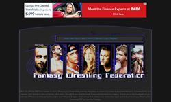 Screenshot of Fantasy Wrestling Federation