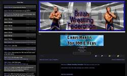 Screenshot of British Wrestling Federation