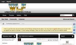 Screenshot of Wrestling Legends Federation (WLF)