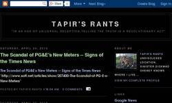 Screenshot of www.tapirsrants.blogspot.com