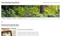 Screenshot of Top Gardening Sites