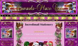 Screenshot of Howards-Place.Com Custom Made Incredimail Stationary
