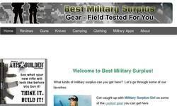 Screenshot of Best Military Surplus