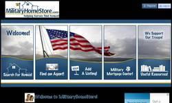 Screenshot of MilitaryHomeStore - helping heroes find homes!