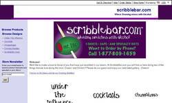 Screenshot of ScribbleBar.com