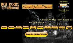 Screenshot of Hot Rocks Radio