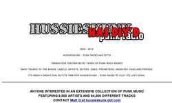 Screenshot of Hussieskunk :: Punk Radio