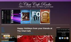 Screenshot of Chat Cafe Radio