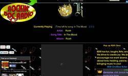 Screenshot of rockinradioradio