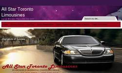 Screenshot of Allstar Toronto Limo