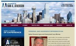 Screenshot of dallas employment attorney