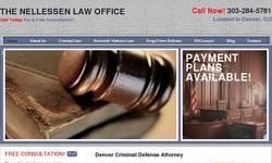 Screenshot of criminal attorney Denver
