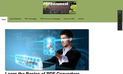 Screenshot of PDF Document Converter