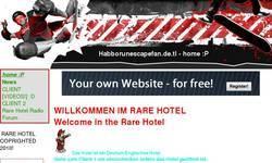 Screenshot of habborunescapefan.de.tl