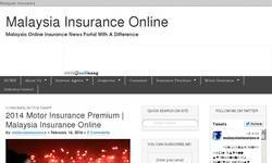 Screenshot of Malaysia Insurance Online