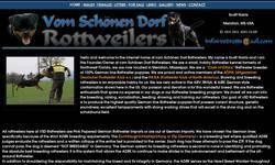 Screenshot of vom Schoenen Dorf Rottweilers