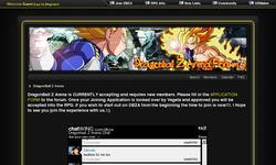 Screenshot of Dragonball Z Arena