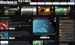 Screenshot of Disclose.tv