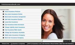 Screenshot of California Auto Insurance