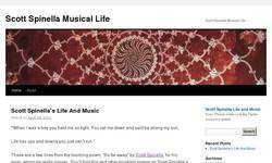 Screenshot of Scott Spinella's Life And Music