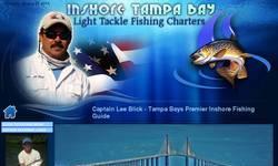 Screenshot of InShore Tampa Bay Fishing Charters