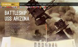 Screenshot of USS Arizona & Pearl Harbor Memorial