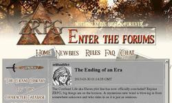 Screenshot of ZRPG