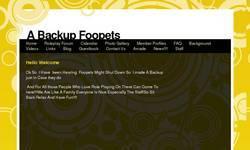 Screenshot of Backup Foopets