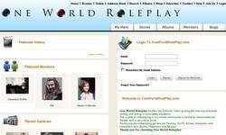 Screenshot of Roleplay as Vampire or Elven Character