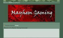Screenshot of Mayhem Gaming