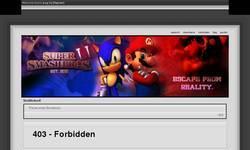 Screenshot of SSBLifeItself