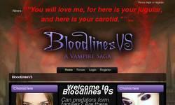 Screenshot of Bloodlines - A Vampire Saga