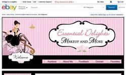 Screenshot of Essential Delights Makeup & More