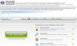 Screenshot of The Truth Toolbar