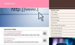 Screenshot of Aliens UFOs Videos Forum Message Board.