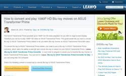 Screenshot of leawo dvd converter