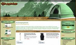 Screenshot of Discount Camping and Outdoor 4u