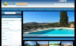 Screenshot of Villas in Portugal