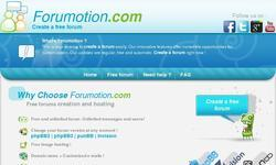 Screenshot of Forumotion - Best free forum hosting
