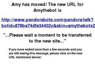 Screenshot of Amythebot