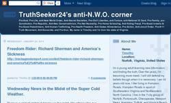 Screenshot of TruthSeeker24's anti-NWO corner