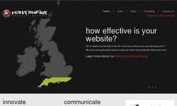 Screenshot of Web Design Nottingham
