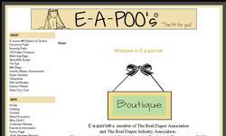 Screenshot of E-a-poo's� Diaper Creations