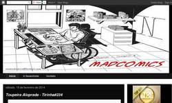 Screenshot of MadComics