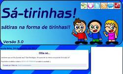 Screenshot of Sa-tirinhas