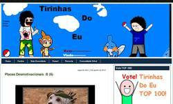 Screenshot of Tirinhas Do Eu