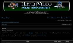 Screenshot of Haven Video Online Video Forum