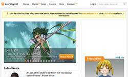 Screenshot of Crunchy Roll