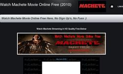 Screenshot of WATCH MACHETE MOVIE ONLINE FREE