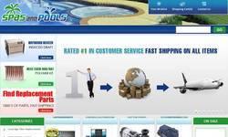 Screenshot of http://www.spasandpools.com/